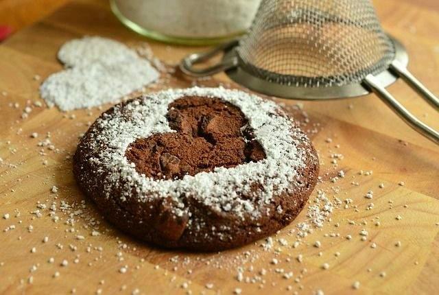 make a cake from scratch